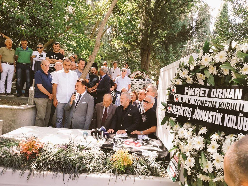 """Fikret Orman: """"Süleyman ağabey 'Beşiktaş'ı üzmesinler' dedi. İnşallah Beşiktaş'ı hiç kimse üzmez, üzmeye de kimsenin gücü yetmesin."""""""