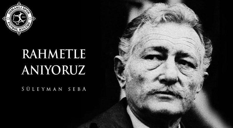 Osmanlıspor'dan Süleyman Seba için mesaj