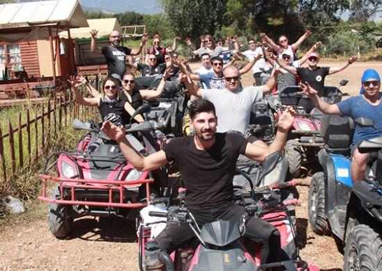 Denizli Beşiktaşlılar Derneği'nden ATV safari turu