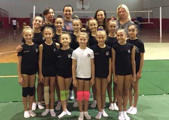Beşiktaş Ritmik Cimnastik Takımı kamp yaptı