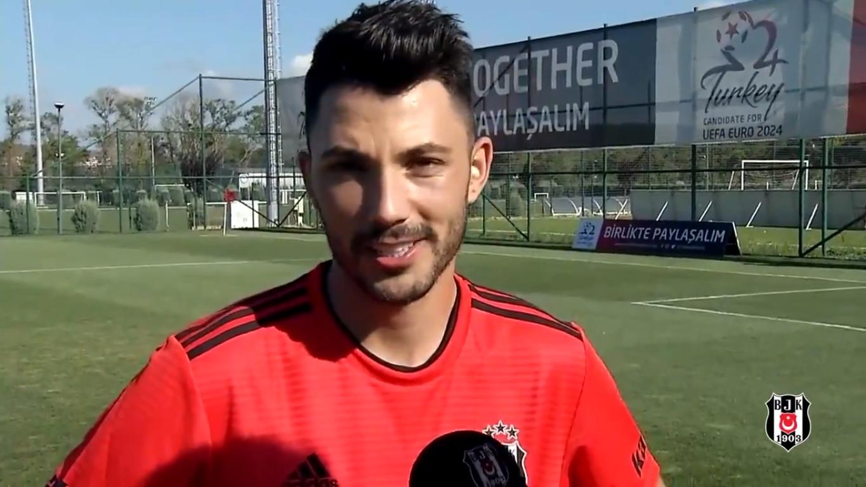 Beşiktaş'tan Tolgay Arslan için doğum günü videosu
