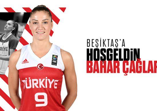 Beşiktaş, Bahar Çağlar transferini resmen açıkladı!