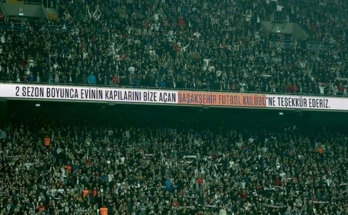 Vodafone Arena'da Mustafa Pektemek'e alkış