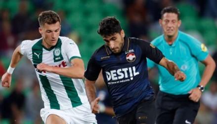 Aras Özbiliz, yeni takımı ile ilk maçına çıktı