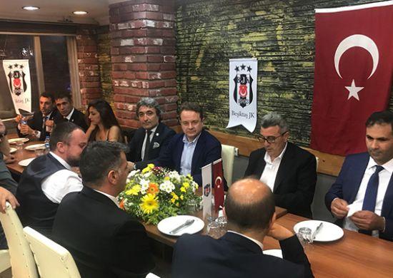 Beşiktaşlı yöneticiler Erzurum Beşiktaşlılar Derneği üyeleriyle buluştu
