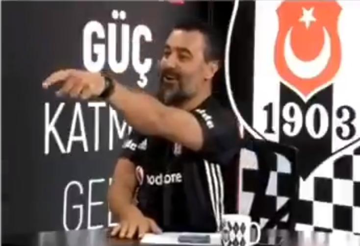 Negredo'nun golünden sonra BJK TV