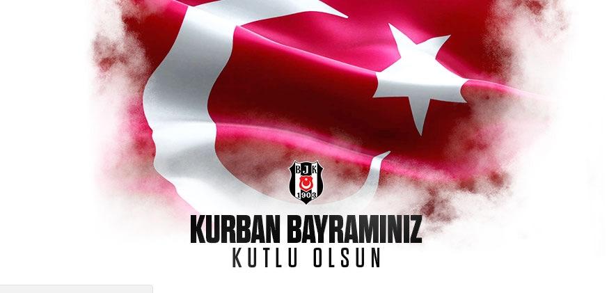 Beşiktaşlı futbolculardan bayram mesajları