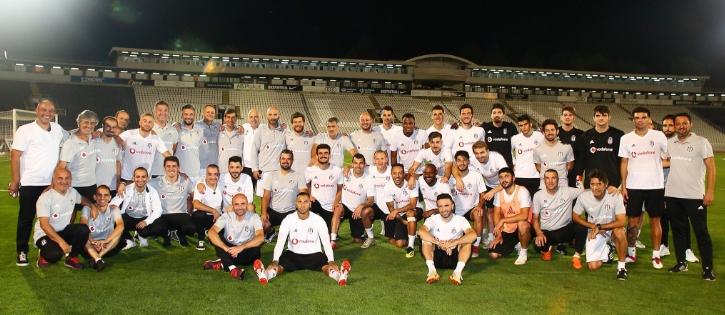 Beşiktaş Partizan maçına hazır!