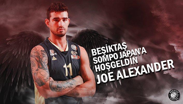 Joe Alexander, Beşiktaş Sompo Japan'da!