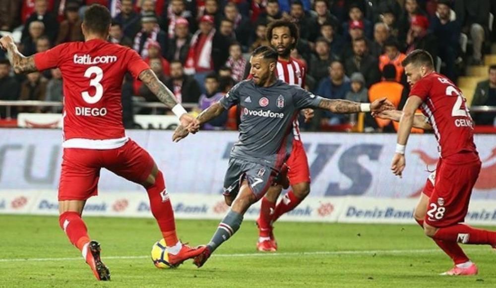Beşiktaş ile Antalyaspor 45. maçlarına çıkıyor