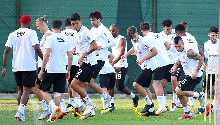 Beşiktaş Antalyaspor maçı hazırlıklarını tamamladı