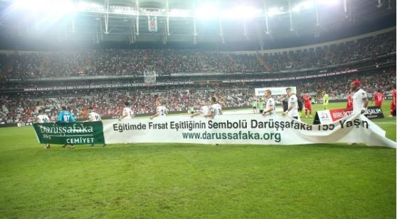 Darüşşafaka'dan Beşiktaş'a teşekkür mesajı!