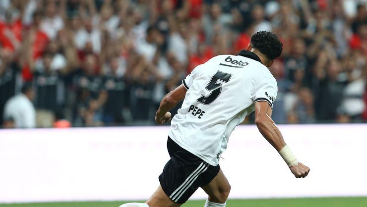 Beşiktaş'ta Pepe kendini aştı