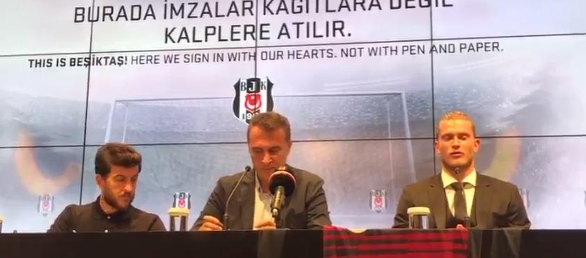 """Fikret Orman: """"Beni Beşiktaş taraftarıyla karşı karşıya getirmek isteyenlerin niyetleri bellidir."""""""