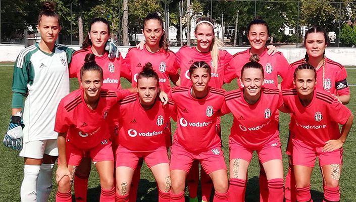 Beşiktaş Kadın Futbol Takımı, Osmaneli Zafer Kupası'nda finale yükseldi