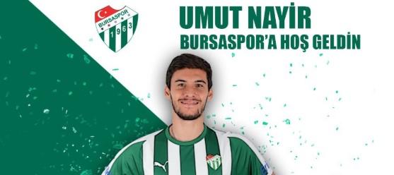 Bursaspor, Umut Nayir'i açıkladı!