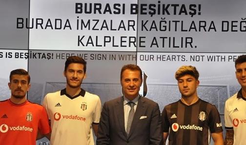 """Fikret Orman: """"Tüm transferlerimiz Beşiktaşımıza hayırlı olsun!"""""""