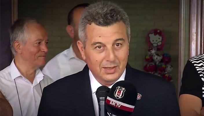 Hüseyin Mican Bursa Beşiktaşlılar Derneği üyeleriyle buluştu