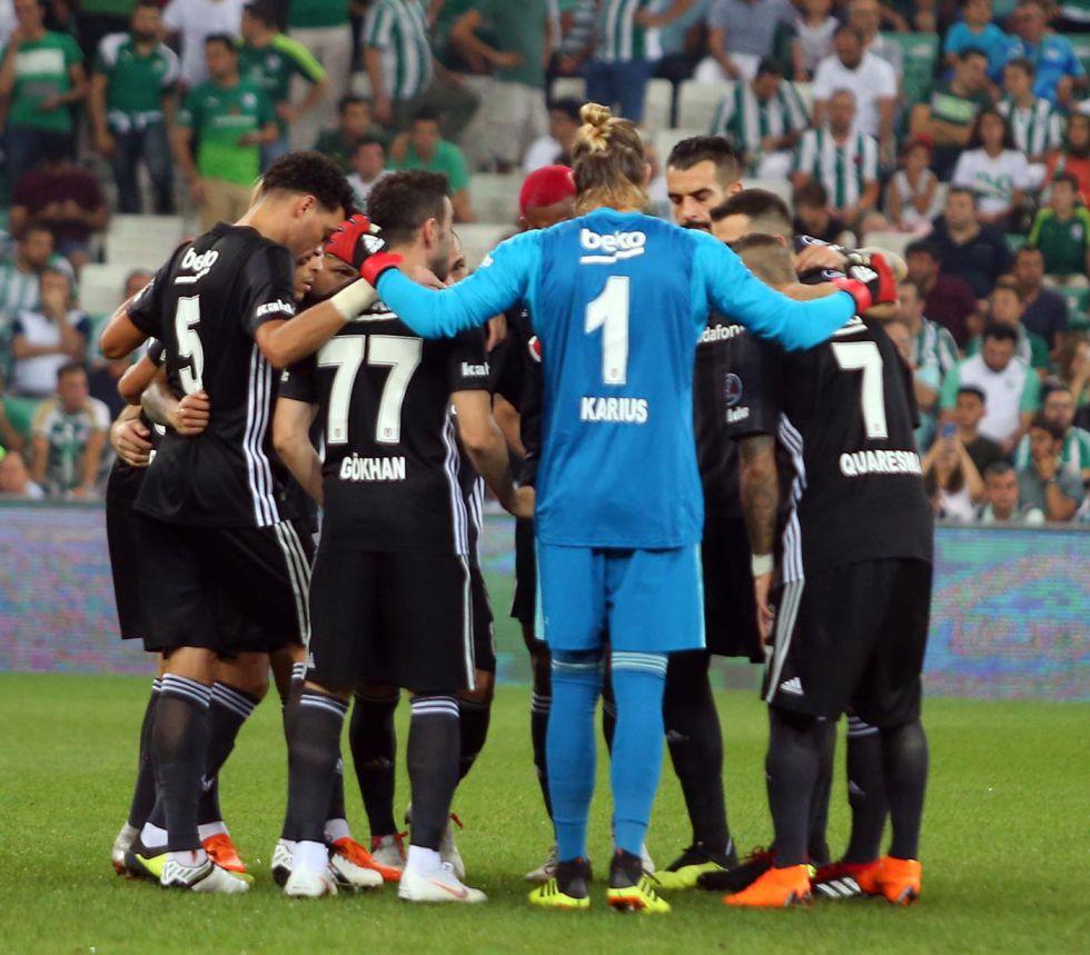 Beşiktaş, Bursaspor ile berabere kaldı!