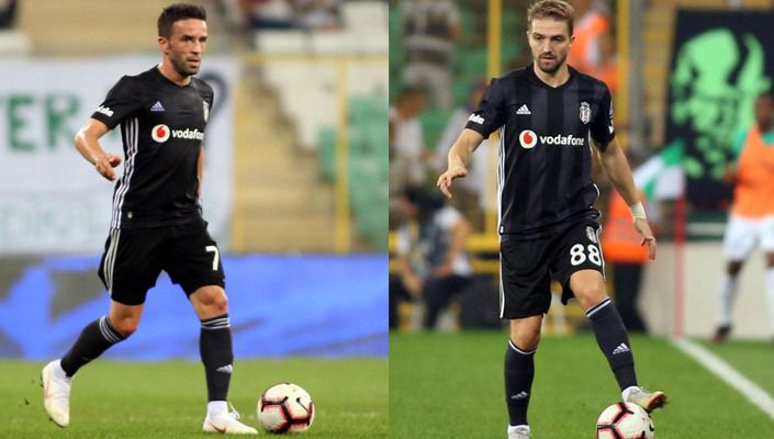 Beşiktaş'tan Caner Erkin ve Gökhan Gönül'ün sağlık durumu hakkında açıklama