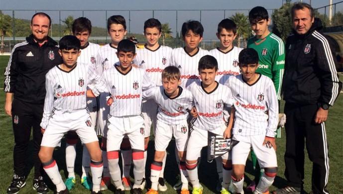 Beşiktaş U-13 Selçuk Efes Cup'ta üçüncü