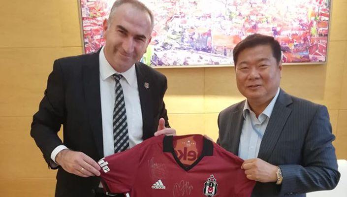 Afyon Beşiktaşlılar Deneği'nden Ruilin Shi'ye ziyaret