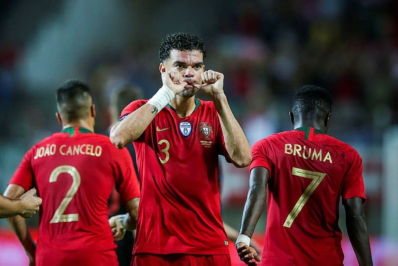 Pepe gollerine milli takımda da devam ediyor!