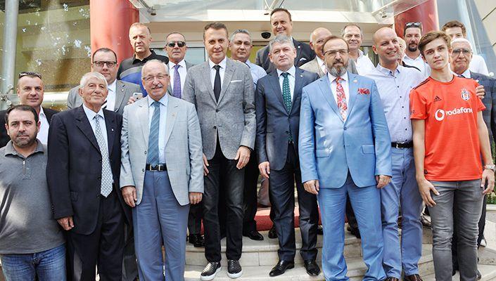 Fikret Orman, Tekirdağ Beşiktaşlılar Derneğinde açılış törenine katıldı