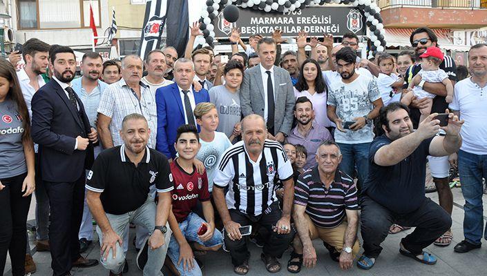 Fikret Orman, Marmara Ereğlili Beşiktaşlılarla buluştu