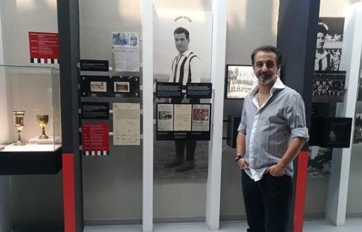 Sanatçı Ruhi Sarı, Beşiktaş Müzesi'ni gezdi