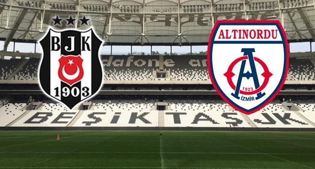 Beşiktaş - Altınordu maçı hangi kanalda, saat kaçta?