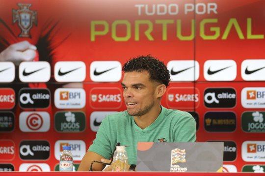 """Pepe: """"Portekiz'i temsil etmekten gurur duyuyorum."""""""