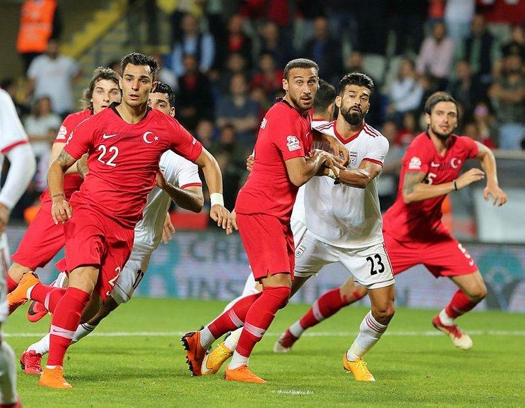 İsveç-Türkiye maçı öncesi muhtemel 11'ler