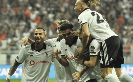 Beşiktaş 2 golle kazandı!