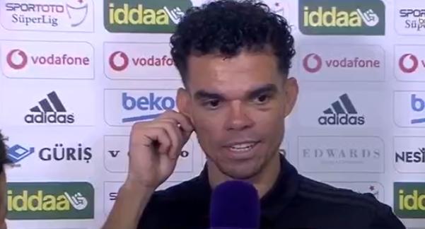 """Pepe: """"Beşiktaş ile ilk konuştuğumda 2 sene daha üst düzey oynayabilirim demiştim..."""" (VİDEO)"""