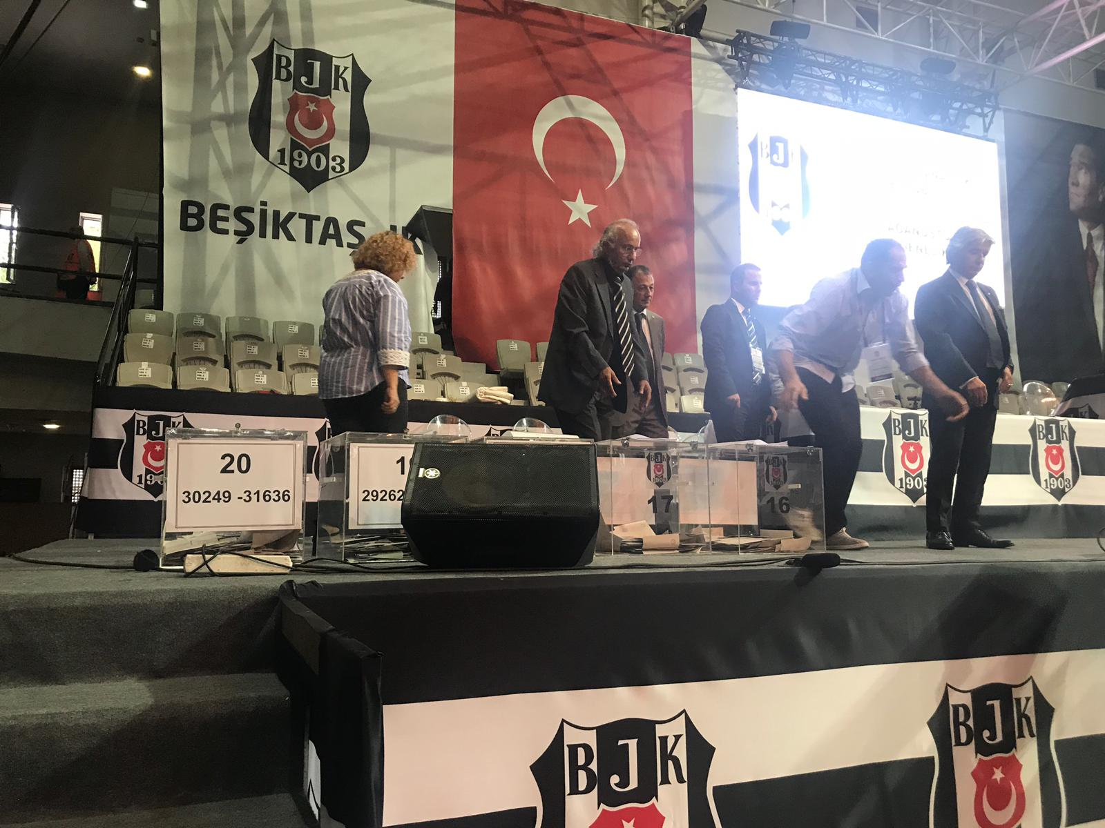 Beşiktaş'ta mazbata töreni bugün!