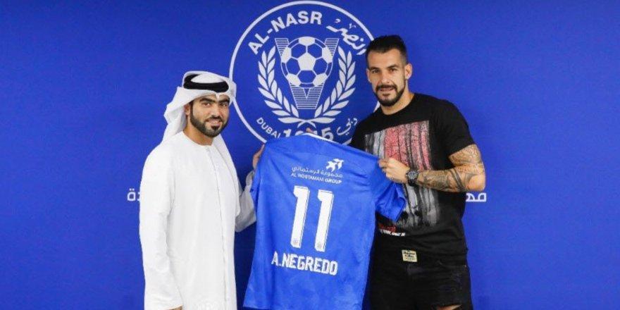 Negredo resmen Al Nasr'da! İşte sözleşmenin detayları...