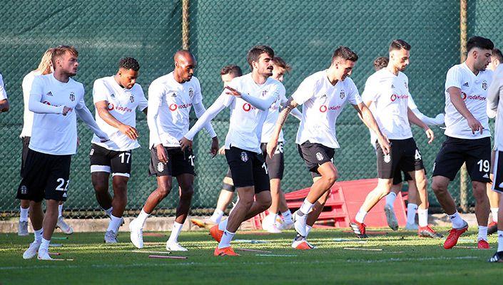 Beşiktaş Sarpsborg maçına hazır