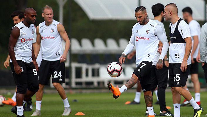 Beşiktaş'ta F.Bahçe maçı hazırlıkları başladı