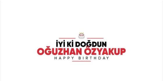 Beşiktaş'ın resmi hesabından Oğuzhan Özyakup'a doğum günü videosu!