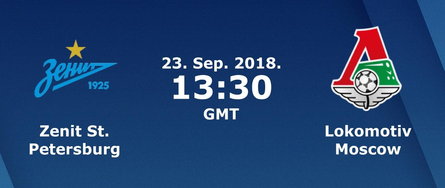 Zenit - Lokomotiv Moskova maçı CANLI izle(23.09.2018)