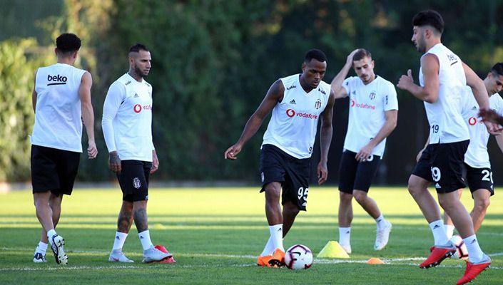 Beşiktaş, derbi hazırlıklarını tamamladı!