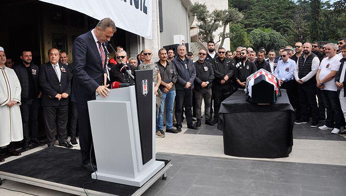 Vodafone Park İdari İşler emektarı merhum Derviş (Ali) Aktepe için tören düzenlendi