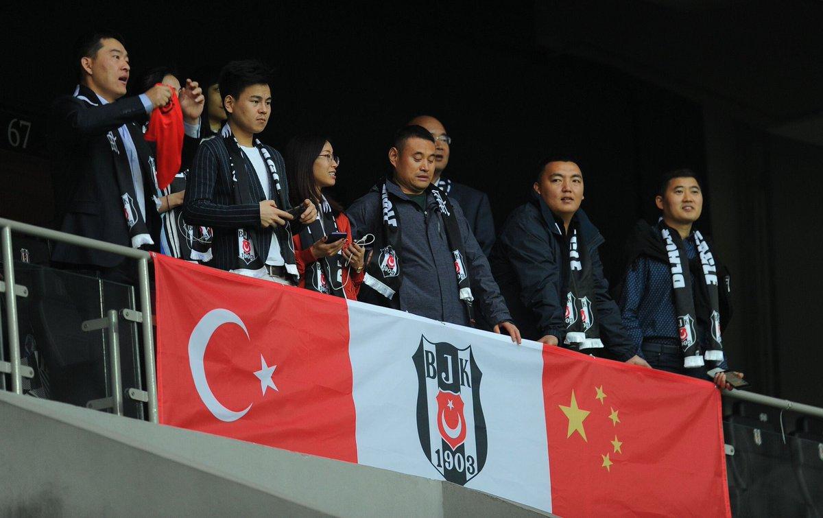 Beşiktaş'tan Çin heyetine davet