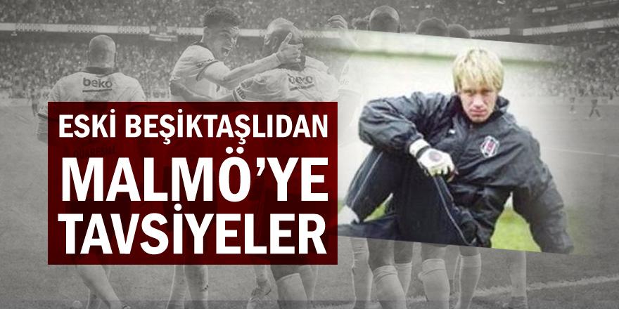 Eski Beşiktaşlı Mathias Asper'den Malmö'ye tavsiyeler