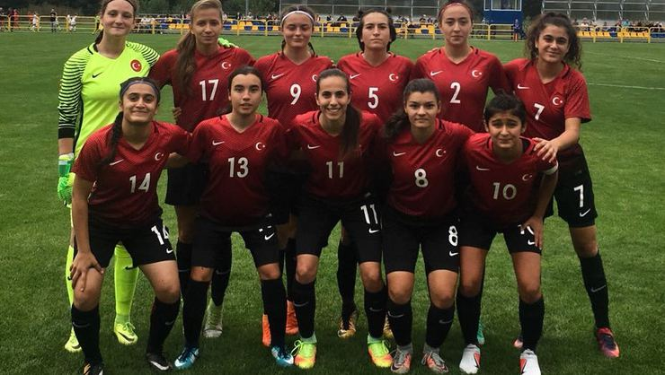 U19 Kadın Milli Takımı Azerbaycan'ı 2 golle yendi!