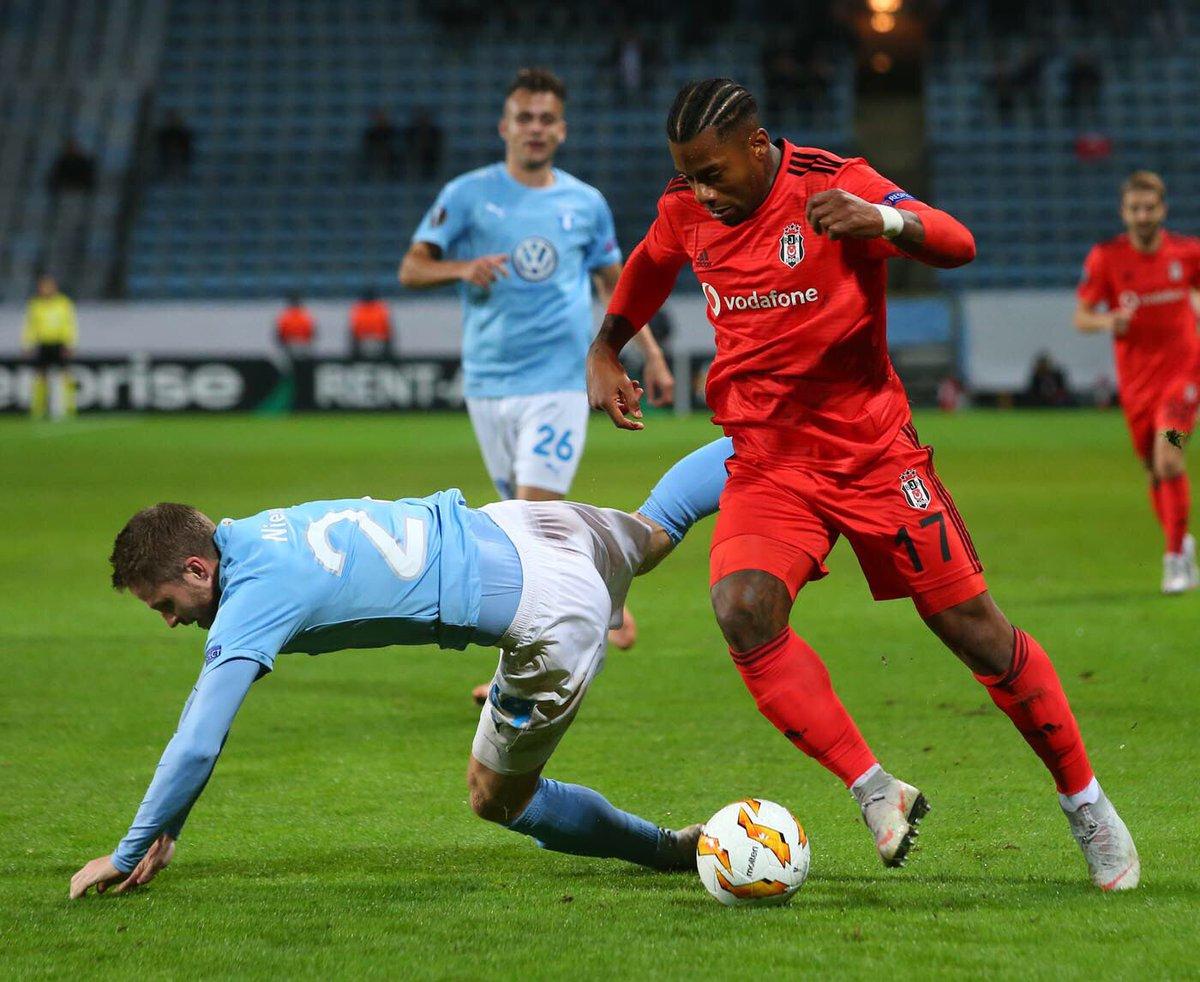 """Eski Beşiktaş olsa antrenman maçı oynayacağı Malmö'de..."""