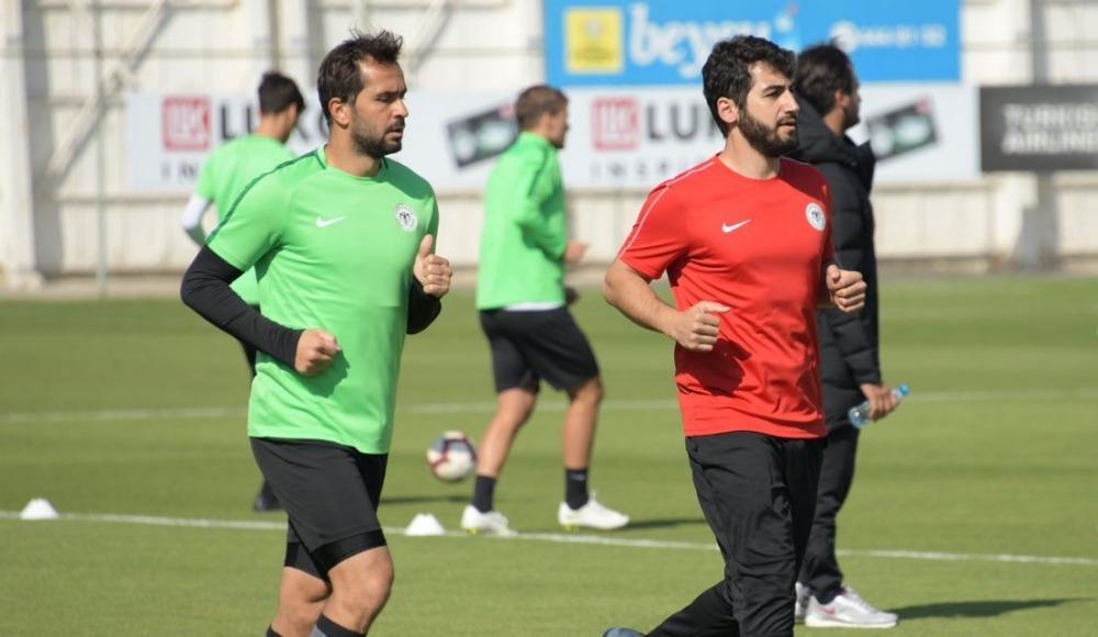 Konyaspor'da Beşiktaş maçı hazırlıkları sürüyor...