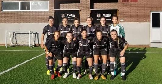 Beşiktaş Kadın Futbol Takımı hazırlık maçında 3 golle kazandı!