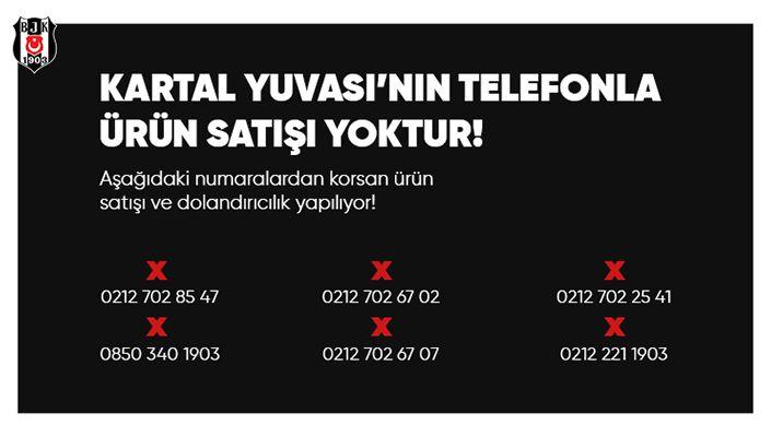Beşiktaş'tan Kartal Yuvası açıklaması!